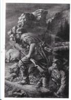 III-Pro020/ Propagandakarte , Grenadiere Beim Angriff - Allemagne