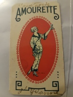 ANCIENNE CARTE PARFUMEE AMOURETTE DISTILLERIE HEMARD - Perfume Cards