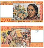Madagascar 2500 Francs - Madagascar