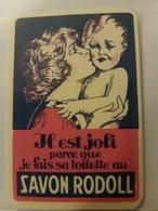 ANCIENNE CARTE PARFUMEE SAVON RODOLL CREME GIRAUD - Perfume Cards