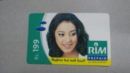 India-rim Prepiad Card-(43c)-(rs.199)-(navi Mumbai)-(30.11.2005)-(look Out Side)-used Card+1 Card Prepiad Free - India