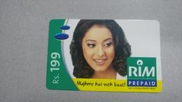 India-rim Prepiad Card-(43d)-(rs.199)-(navi Mumbai)-(31.3.2006)-(look Out Side)-used Card+1 Card Prepiad Free - India