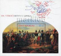 Czech Republic - 2013 - 200 Years Of Battle Near Leipzig (Lipsko) - Mint Souvenir Sheet - Czech Republic