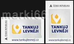 Czech Republic - 2013 - Fill Up Your Tank Cheaper! - Mint Personalized Stamp Set - Tchéquie