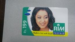 India-rim Prepiad Card-(43e)-(rs.199)-(navi Mumbai)-(30.6.2006)-(look Out Side)-used Card+1 Card Prepiad Free - India