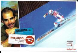 SKI ALPIN CHAMPIONNAT DU MONDE - WORLD CHAMPIONSHIP ALPINE SKIING -  VAL D'ISERE 2009 - DIDIER DEFAGO - ROSSIGNOL - Sports D'hiver