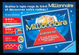 Promo FDJ - Journée MILLIONNAIRE - 41201 Neuf - Billets De Loterie