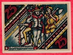 Allemagne 1 Notgeld De 25 Pfenning Stadt Paderborn UNC  N °2383 - [ 3] 1918-1933: Weimarrepubliek