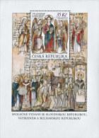Czech Republic - 2013 - 1150 Years Since Arrival Of St. Cyril & Methodius - Mint Souvenir Sheet - Ungebraucht