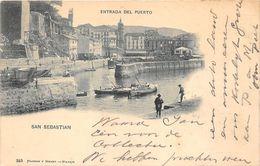ALTE   AK  SAN SEBASTIAN / Spanien  - Teilansicht - Gelaufen 1900 - Guipúzcoa (San Sebastián)