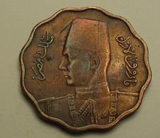 1938 - Egypte - Egypt - 1357 - 10 MILLIEMES, Roi Farouk - KM 381 - Egypte