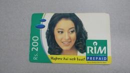 India-rim Prepiad Card-(43f)-(rs.200)-(navi Mumbai)-(30.9.2005)-(look Out Side)-used Card+1 Card Prepiad Free - India