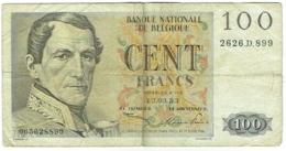 Billet. Belgie/Belgique. 100 Francs. Type Léopold 1er. 13.03.53. - [ 2] 1831-... : Royaume De Belgique