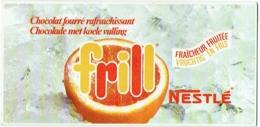 Calendrier Nestlé. Frill, Chocolat Fourré. 1972. - Calendriers
