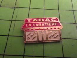 713G Pin's Pins /  Rare & De Belle Qualité : THEME MARQUES / BAR TABAC PMU LA TABATIERE - Marques
