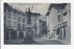 CPA ITALIE S. GIOVANNI BIANCO Piazza Zignoni - Italy