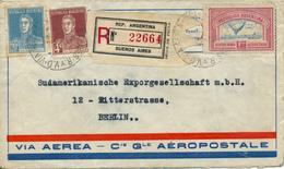 BUENOS AIRES / Argentina - 1929 , Brief Nach Berlin - Argentine