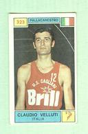 CLAUDIO VELLUTI...PALLACANESTRO..VOLLEY BALL - Trading Cards