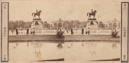 Photos - Stéréo. : LYON : Place Napoléon ( éd. Observatoire Gay ) N° 1 - Stereoscopic