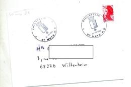 Lettre Cachet Metz Philatelie - Marcophilie (Lettres)