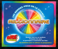 Promo FDJ - Tournée Des Plages 2008 - 43701 Vert Neuf + Grille Loto - Billets De Loterie