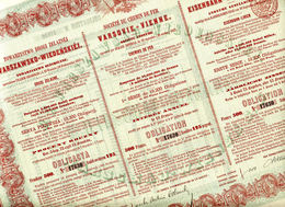 CHEMIN De FER VARSOVIE - VIENNE De 1867 - Rusland