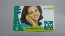 India-rim Prepiad Card-(44b)-(rs.55)-(navi Mumbai)-(30.6.2006)-(look Out Side)-used Card+1 Card Prepiad Free - India
