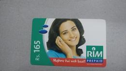 India-rim Prepiad Card-(44e)-(rs.165)-(navi Mumbai)-(31.10.2005)-(look Out Side)-used Card+1 Card Prepiad Free - India
