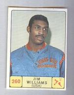 JIM WILLIAMS..IGNIS PARTENOPE...PALLACANESTRO....VOLLEY BALL...BASKET - Tarjetas