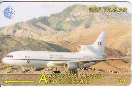 ASCENSION ISL.(GPT) - RAF Tristar, CN : 134CASC, Tirage 2000, Used - Ascension (Insel)