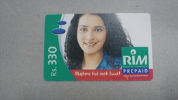 India-rim Prepiad Card-(44g)-(rs.330)-(navi Mumbai)-(31.3.2006)-(look Out Side)-used Card+1 Card Prepiad Free - India