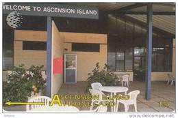 ASCENSION ISL.(GPT) - Welcome To Ascension Island, CN : 7CASA, Tirage 7600, Used - Ascension
