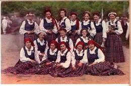 Latvia.Lettland. PHOTO-POSTCARD- IX Latvian National Song Festival. VALMIERAS TAUTAS TERPOS - Letonia