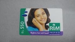 India-rim Prepiad Card-(44h)-(rs.550)-(navi Mumbai)-(30.6.2006)-(look Out Side)-used Card+1 Card Prepiad Free - India