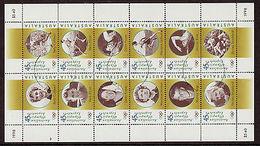 74646) Australia 1998 OLYMPIC LEGENDS SHEETLET Di 12V- USATO - Blocchi & Foglietti