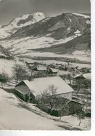 PRAZ SUR ARLY Vue Générale Et Le Mont-Blanc- Bon état - Sonstige Gemeinden