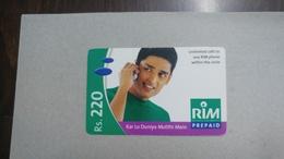 India-rim Prepiad Card-(45a)-(rs.220)-(navi Mumbai)-(30.6.2006)-(look Out Side)-used Card+1 Card Prepiad Free - India