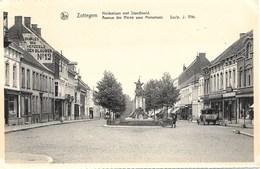 Zottegem NA8: Avenue Des Héros Avec Monument - Zottegem