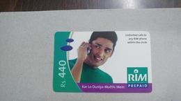 India-rim Prepiad Card-(45c)-(rs.440)-(navi Mumbai)-(31.3.2006)-(look Out Side)-used Card+1 Card Prepiad Free - India