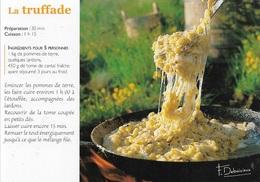 Recettes De Cuisine - La Truffade -  éditeur : DEBAISIEUX / R103 - Cpm - Vierge - - Recipes (cooking)