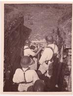 TIR DU MORTIER DE 80     COETQUIDAN 1938    PHOTO ORIGINALE - Army & War