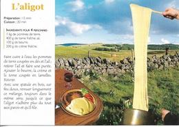 Recettes De Cuisine - L'Aligot -  éditeur : DEBAISIEUX / R018 - Cpm - Vierge - - Recetas De Cocina