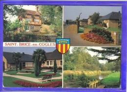 Carte Postale 35. Saint-Brice-en-Cogles Très Beau Plan - Other Municipalities