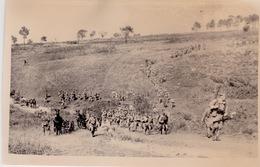 LA CA2  FRANCHIT UN RAVIN   COETQUIDAN 1938  PHOTO ORIGINALE - Army & War