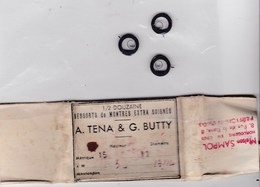 Horlogerie Ressorts De Montres Extra Soignés  A.Tena & G.Butty Lot De 3 - Bijoux & Horlogerie