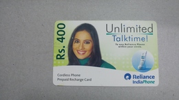 India-rim Prepiad Card-(48c)-(rs.400)-(navi Mumbai)-(31.12.2005)-(look Out Side)-used Card+1 Card Prepiad Free - India