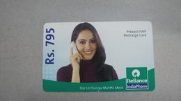 India-rim Prepiad Card-(48d)-(rs.795)-(navi Mumbai)-(31.3.2007)-(look Out Side)-used Card+1 Card Prepiad Free - India