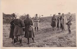 Le  COMMANDANT CHINVIS PHOTOGRAPHIE LE CAID ROBIN COETQUIDAN 1938 - Army & War