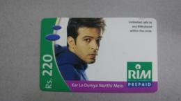 India-rim Prepiad Card-(49)-(rs.220)-(navi Mumbai)-(30.11.2005)-(look Out Side)-used Card+1 Card Prepiad Free - India