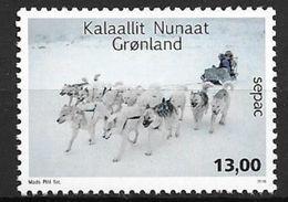 Groënland 2016, N° 698 Neuf SEPAC Traineaux à Chiens - Unused Stamps